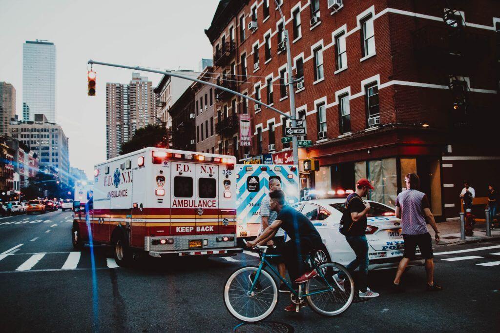 ambulance in New York